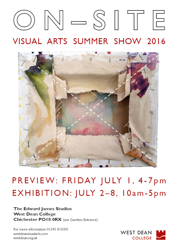 On-Site - West Dean College Summer Show 2016 WEB & MAIL