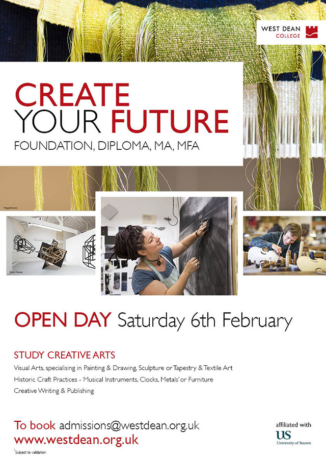 Open Day 2016 A3 Creative Arts Poster Print-ready