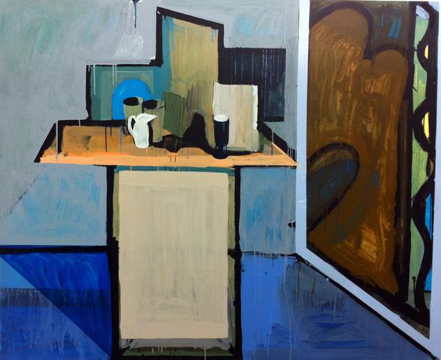 Robert Semrdon - Studio with Matisse