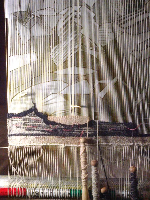LouLou Morris tapestry
