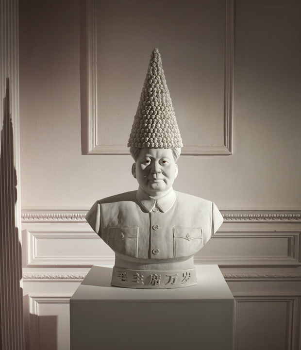 Bouke de Vries - Mao with Dunce's Cap