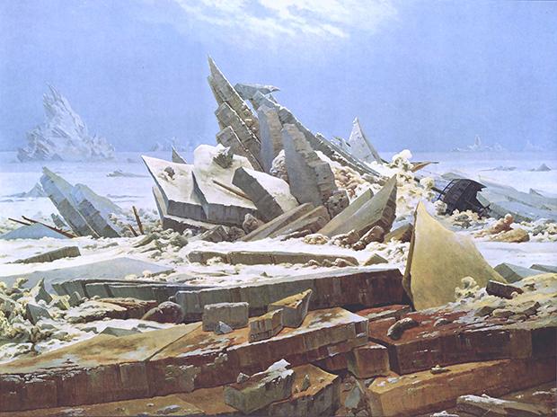 Caspar David Friedrich - Die gescheiterte Hoffnung (1923-24)