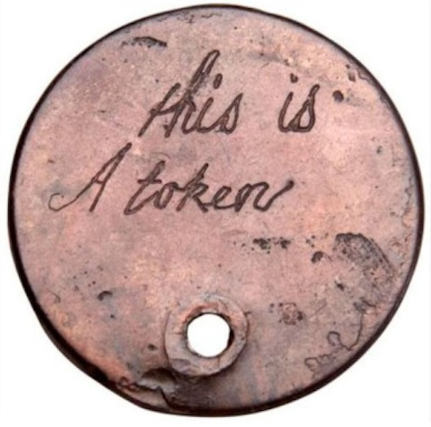 Token (image copyright The Foundling Museum)