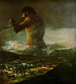 Francisco de Goya - The Colossus
