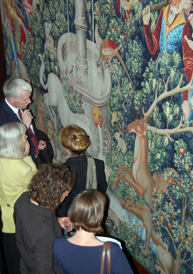 Finding the Unicorn Private View, Fleming Collection, 17 April