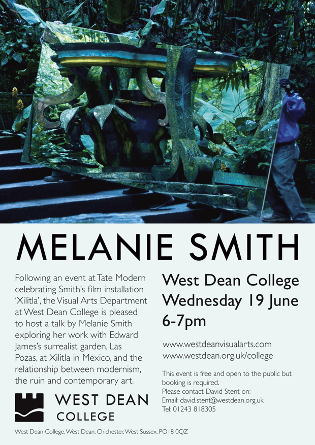 Melanie Smith talk - West Dean College