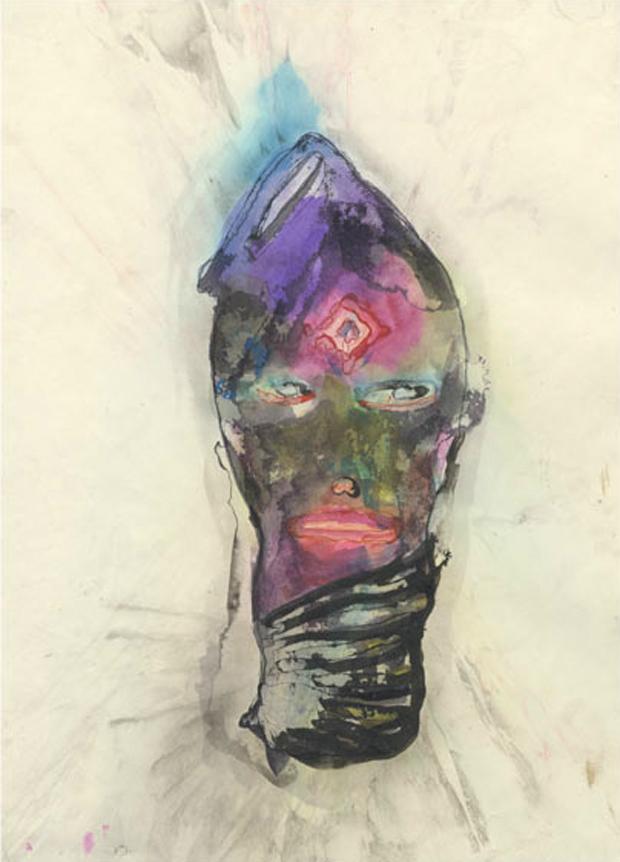 Sod Sock (2007) ink on paper