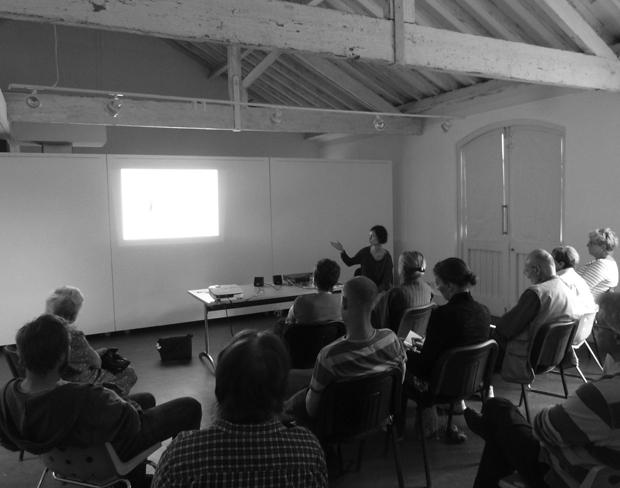 Daniela Antonelli talk Seminar Room West Dean College