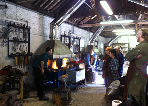 Forge workshop - Alex Coode and Jon Privett