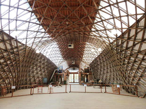 Offsite Series 2 Visit To The Jerwood Gridshell West