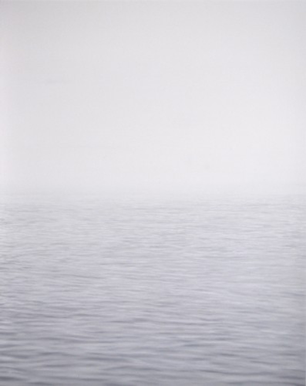 Rebecca Partridge - Notes on the Sea: Day - Part 1, II, oil on board, 70 x 56 cm, 2013