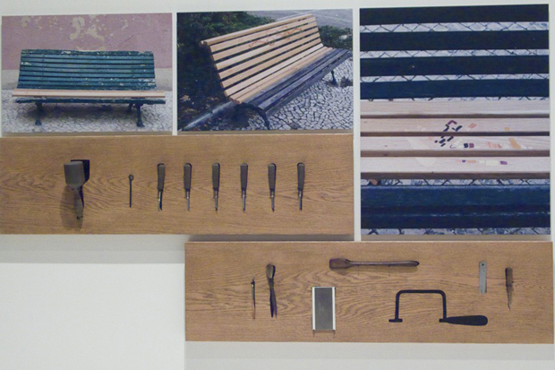 Linda Brothwell - Bench Repair Project (2009) Design Museum Show