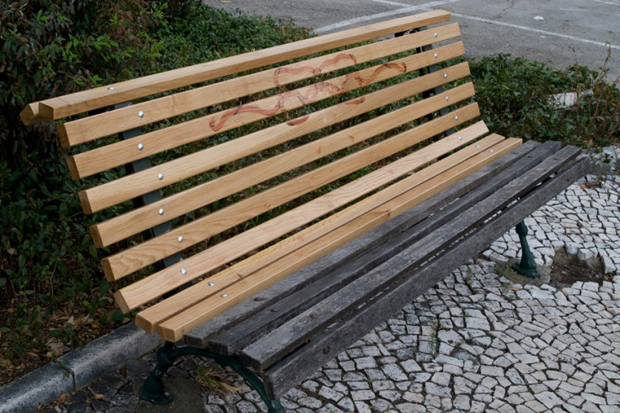 Linda Brothwell - Bench Repair Project (2009)