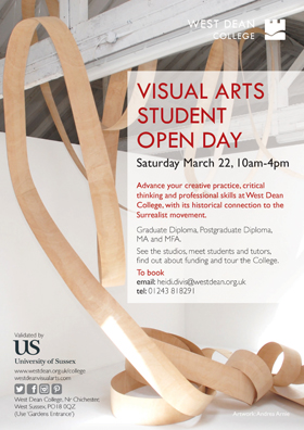 Visual Arts Open Day 2014