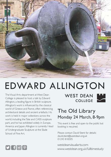 Edward Allington VA Lecture 2014