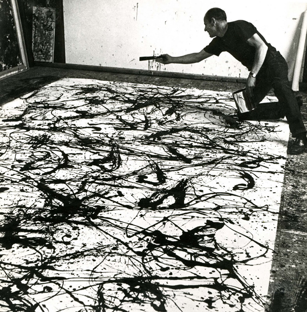 Pollock at Work, 1950