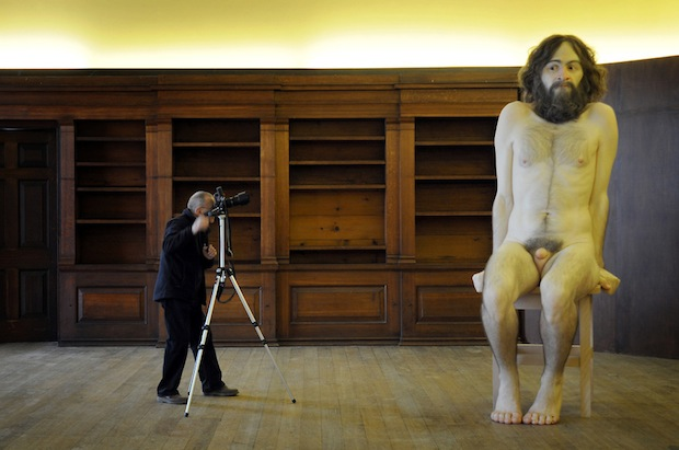 Ron Mueck at Belsay Castle