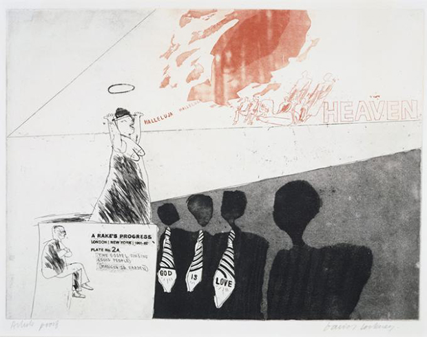 David_Hockney_The Gospel Singing