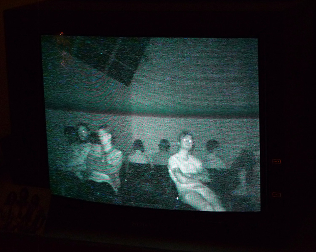 Blue Firth - Vigil: Participatory Observation and Fieldwork - An Investigation into Haunted Space, Psychometry and Spectatorship. Film stills and documentation of performance, October 2011