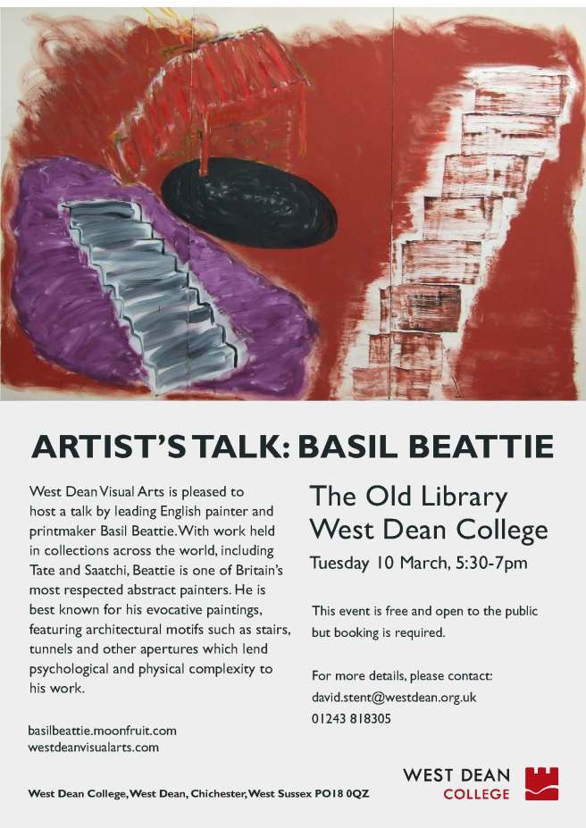 Basil Beattie talk