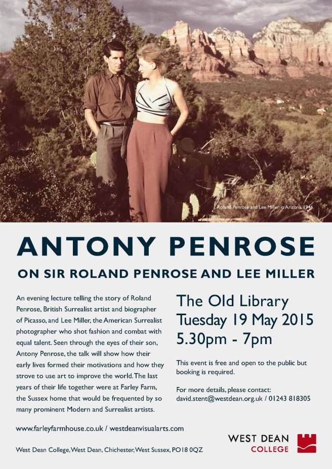 Antony Penrose talk promo