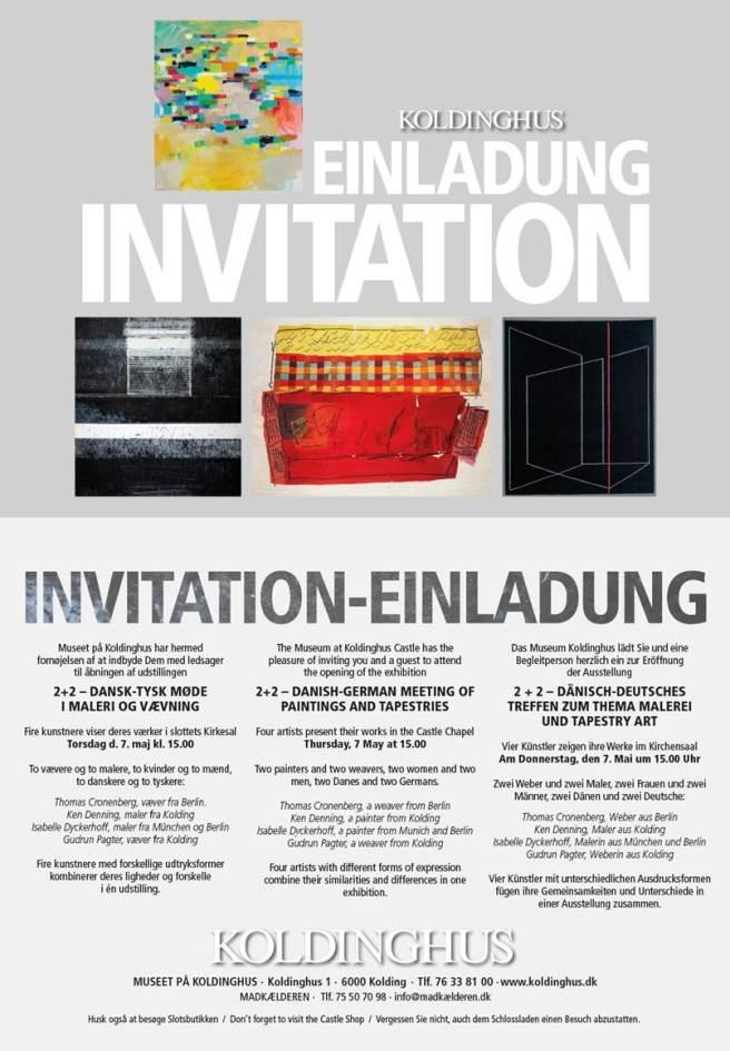 Thomas Cronenburg exhibition