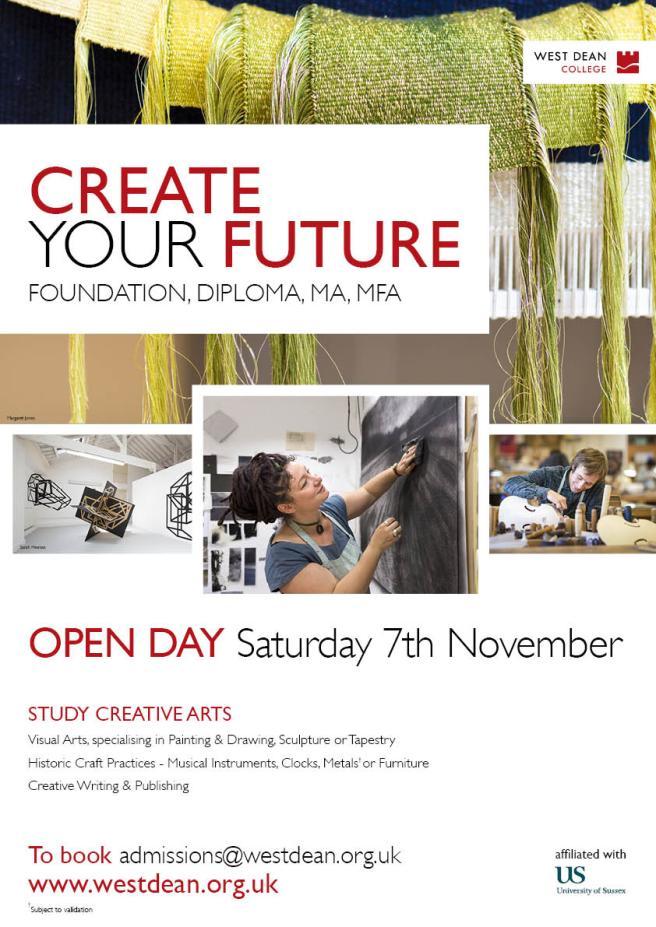 Open Day 2015 Creative Arts