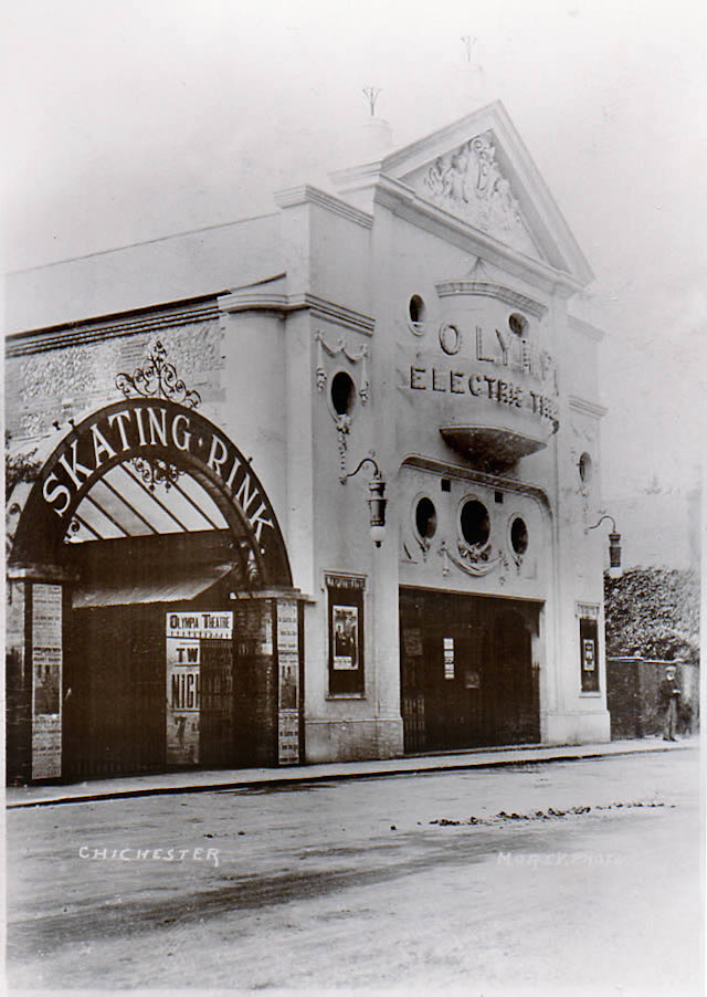 Olympia Electric Cinema Chichester (c.1915)
