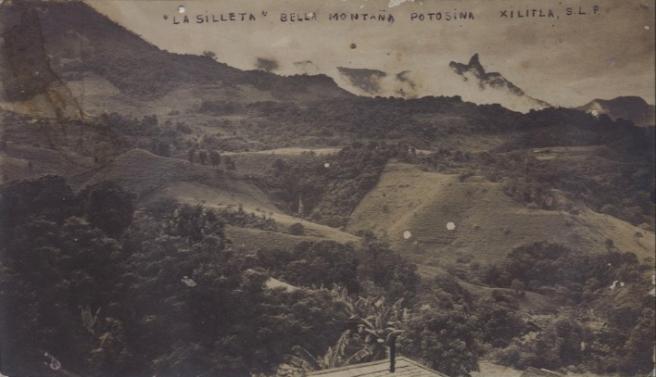 La Silleta, bella montana potosina 1914