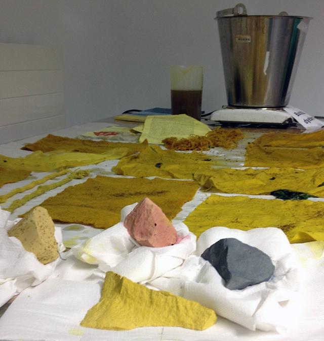 Natural Dyeing workshop 02