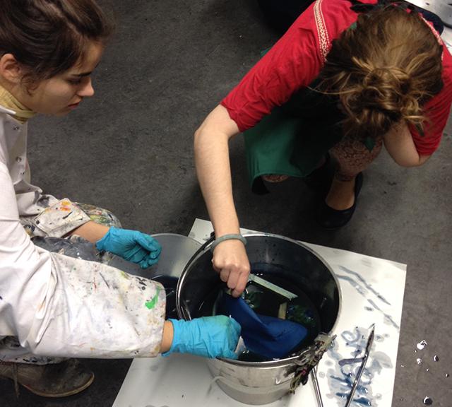 Natural Dyeing workshop 03