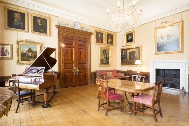The Music Room at West Dean