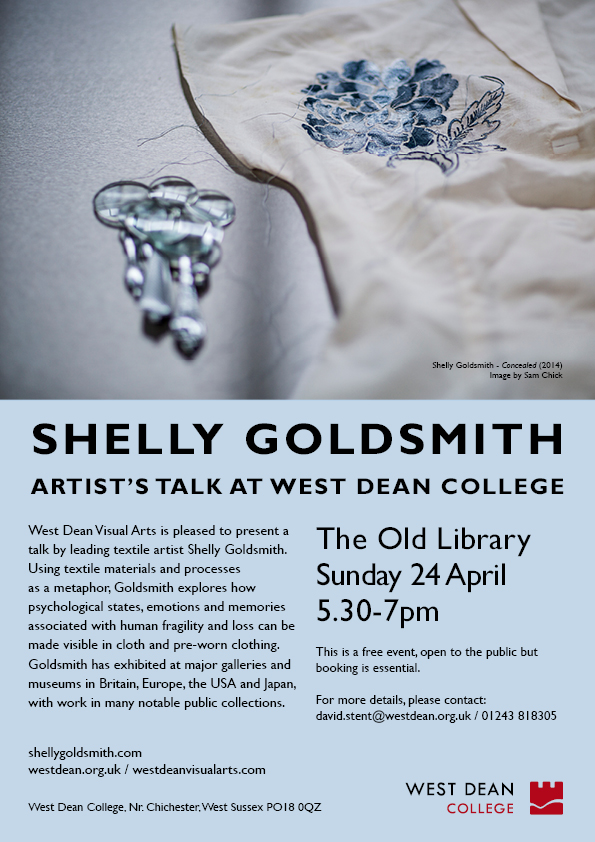 Shelly Goldsmith talk A4 poster (Email & Web)