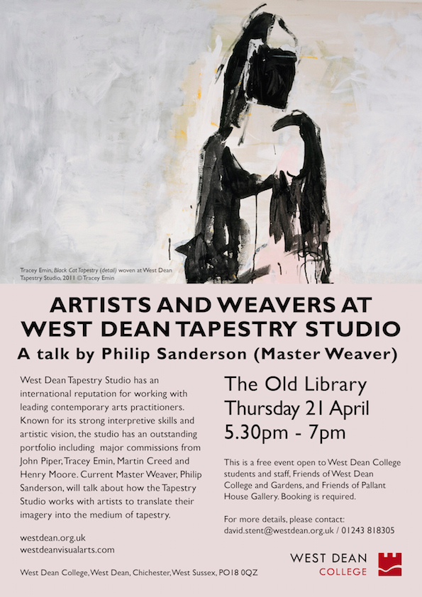 West Dean Lecture_Artists_Weavers_210416_web