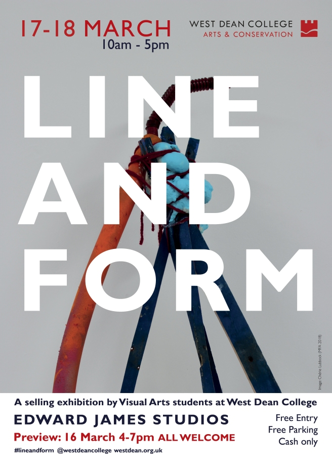 Line and Form 2018 poster RGB